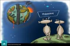 Бедные люди (карикатура)