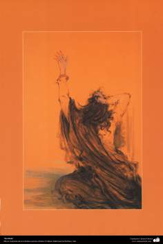 """""""Sin título"""" (4), Obras maestras de la miniatura persa; M. Farshchian"""
