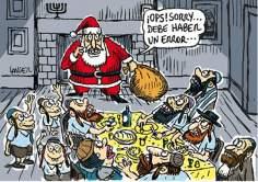Papa Noel Judío Sionista(Caricatura)-20