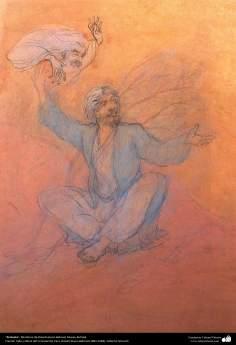 الفن الإسلامي - تحفة المنمنمات الفارسية - اعتراضات - تأثير استاذ حسين بهزاد - متحف بهزاد، 184