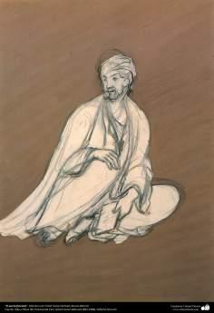 """Arte islamica-Il capolavoro della miniatura persiana,""""Il poeta"""",Maestro Hosein Behzad-190"""