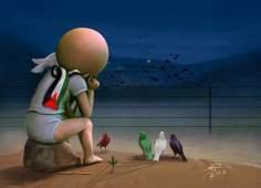 کارٹون - فلسطینی بچوں کا خواب مسجد الاقصی کی آزادی