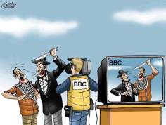 Guerra mediática contra Palestina (Caricatura)-17