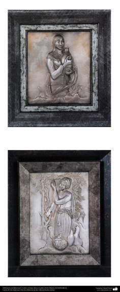"""Иранское искусство - Гравировка металла, """"Галам Зани"""" (тиснение) - Фото - 63"""