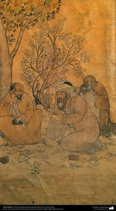 المنمنمات الفارسية - عمر خیام تأثیر استاذ حسین بهزاد - 82