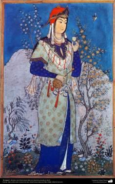 El copero, Miniatura de Ostad Hosein Behzad, Colección privada en EEUU -95
