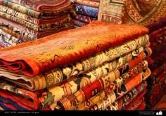 هنر اسلامی - صنایع دستی - هنر نساجی قالی -  قالیچه فارسی - 106