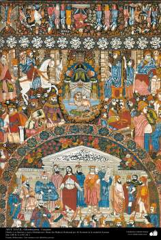Handicraft – Textile Art - carpet made in the city of Kerman 1911-156