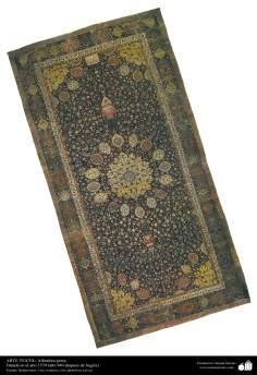 Alfombra persa - Datada en el año 1539