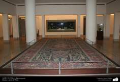 Alfombra persa - en el museo Louvre de Paris
