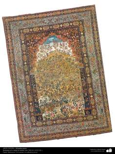 Persian Carpet made in the city of isfahan – Iran in 1911 - 2