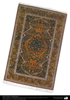 Art islamique - artisanat - art du tissage de tapis  - tapis persan- Isfahan -Iran en 1911-89