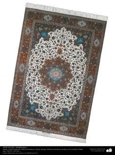 Art islamique - artisanat - art du tissage de tapis  - tapis persan- Isfahan - Iran -1951-86