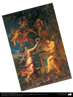 Art islamique - artisanat - art du tissage de tapis  - tapis persan- Kerman -Iran en 1911-83