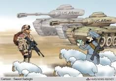 América estaba vendiendo sus equipos a Afganistán
