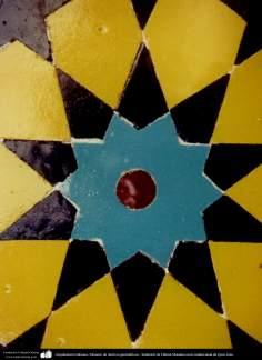Arquitectura Islámica- Mosaico de motivos geométricos - Santuario de Fátima Masuma en la ciudad santa de Qom (3)