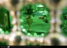 اسلامی معماری - شہر قم میں حضرت معصومہ (س) کی ضریح مبارک اور مزار مطہر