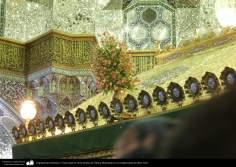 Arquitectura Islámica- Vista superior de la tumba de Fátima Masumah en la ciudad santa de Qom, Irán (10)