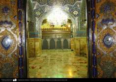 Islamic Architecture - View of the tomb of Fatima Masuma in the holy city of Qom (3)
