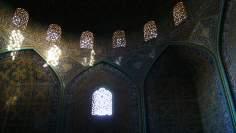 المعماریة الإسلامية - صور الداخلية للقبة مسجد الشيخ لطف الله - اصفهان - ايران (4)