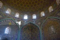 Islamic Architecture - Interior view of the dome of the mosque Sheikh Lotf Allah (or Lotfollah) - Isfahan (11)