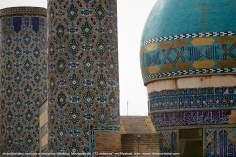 """اسلامی معماری - شہر مشہد میں """"۷۲ شہید"""" نام کی جامع مسجد میں کاشی کاری اور خطاطی کا ہنر ، ایران - ۲۷"""