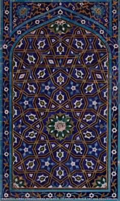 Architektur, Politur und islamische Mosaiken, 72 Shuhada (Märtyrer) Moschee in der heiligen Stadt von Maschhad - Iran - 25 - Islamische Kunst - Islamische Mosaiken und dekorative Fliesen (Kashi Kari)