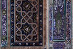 Arquitectura, azulejos y mosaicos islámica, Mezquita 72 mártires en Mashad - 26