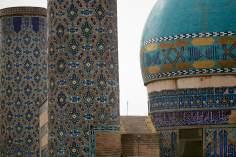 المعمارية الإسلامیة، الزجاج والفسيفساء والمينا، مسجد 72 الشهداء في المدينة المقدسة مشهد - إيران