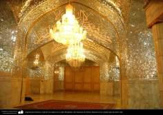 Architecture islamique - une vue  du sanctuaire de l'Imam Fatima Ma'soumeh -Mutahhari-Qom-116