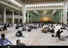 Arquitectura Islámica- Vista de la sala Imam Jomeini, del Santuario de Fátima Masuma en la ciudad santa de Qom - 111