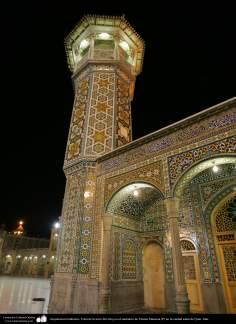 Arquitectura Islámica- Vista de la torre del reloj en el santuario de Fátima Masuma (P) en la ciudad santa de Qom - 94