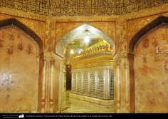 Arquitectura Islámica- Vista de tumba de Fátima Masuma desde la sala antigua en la ciudad santa de Qom - 119