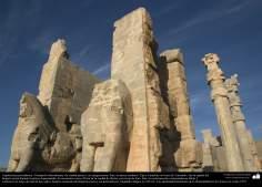 المعماریة ما قبل الإسلام - الفن الفارسي - شيراز، برسبوليس - تخت جمشید - 19