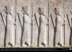Доисламская персидская архитектура - Иранское искусство - Персеполис или Тахте-Джамшид ( трон Джамшида ) - Шираз - 48