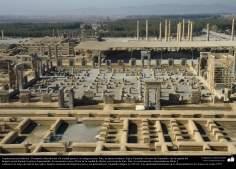 Доисламская персидская архитектура - Иранское искусство - Персеполис или Тахте-Джамшид ( трон Джамшида ) - Шираз - 5