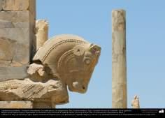 Architecture avant l'islam  - Motif d'art iranien à Shiraz Perspolis (Takhte djamshid)  - 20