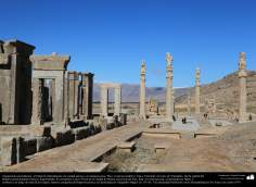 معماری قبل از اسلام - هنر ایرانی - شیراز، پرسپولیس - تخت جمشید - 43