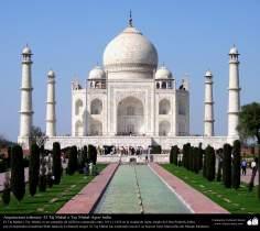 Il Taj Mahal -  situato ad Agra, nell'India settentrional