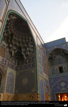Arquitetura Islâmica - Moqarnas da Mesquita Sheik Lotf Allah (ou Lotfollah) - Isfahan Irã