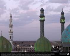 Arquitectura islámica- Una vista de la Mezquita Jamkaran (Yamkaran), cerca de la santa ciudad de Qom en Irán - 130