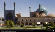 Architettura islamica-Vista generale di moschea Imam Khomeini(Moschea Shah)-Isfahan,Iran-36