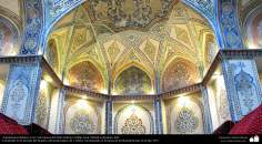 Islamic Arquitechture- an internal view to the historical bath of Sultan Amir Ahmad in Kashan - 232
