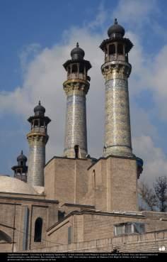Arquitectura islámica – Una vista de la mezquita Sepahsalar, o ya más conocida como Masjed-e Ayatola Motahhari en Teherán - 234