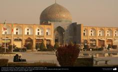 Islamic Architecture-  external view of the ceramic  of Sheikh Lotf Al-lah's Mosque (or Lotfollah)-Isfahan - 3