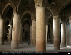Islamic Arquitechture-  internal view of Jame Mosque  (Jame) in Isfahan-Iran, built and renewed y since 771 till nowdays - 3