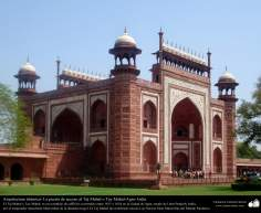 The gateway to the Taj Mahal - Agra - India