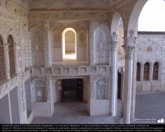 Arquitectura islámica- Una vista de La Casa de los Tabatabaeis, una casa histórica en Kashan - 207