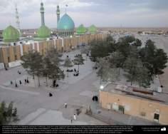Arquitectura islámica- Una vista de la mezquita Jamkaran (Yamkaran), cerca de la santa ciudad de Qom en Irán - 137