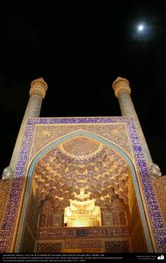 Islamic Architecture - A view of the entrance of the Imam Khomeini Mosque (mosque Sha) - Isfahan - 5